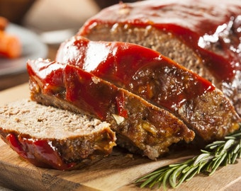 Homemade: HPB Mama's Presidential MEATLOAF Recipe