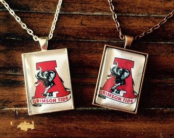 Alabama Crimson Tide necklace