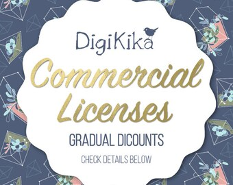 Commercial License - Gradual Discounts - Commercial Use