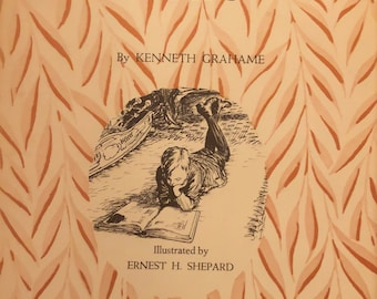 Dream Days Kenneth Grahame Ernest Shepard hardcover book 1930
