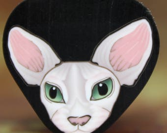 SPHYNX Polymer Clay Cat Cane -'Here Kitty Kitty' (21B)
