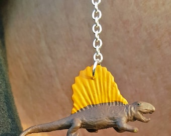 Dimetrodon Dangle Earrings