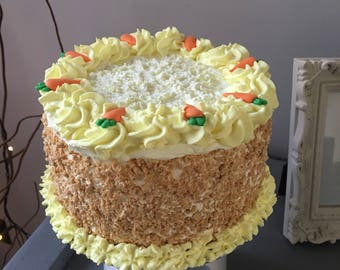 Fake 6in carrot cake
