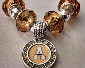 Appalachian State University (ASU) Beaded Logo Bracelet