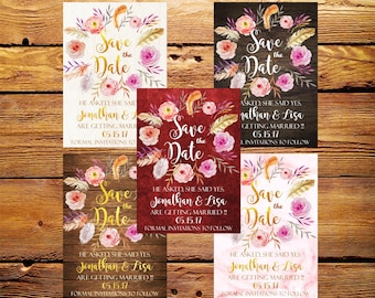 Save the Date,Save the Date Invitation,Save the Date Rustic,Save the Date Printable,Wedding Save the Date,Save The Date Invites