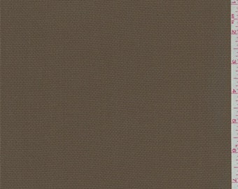 Olive Brown Pique Chiffon, Fabric By The Yard