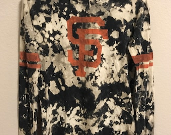 Tie Dye San Francisco Giants Long Sleeve Shirt