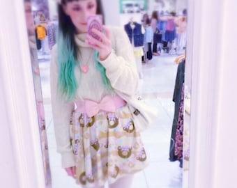 Trixie the alien donut skirt, Choco Bear Donut Skirt, Biscuit Skirt