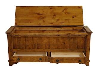Hope chest, farmhouse rustic hope chest, toy chest, rustic hope chest, rustic toy box