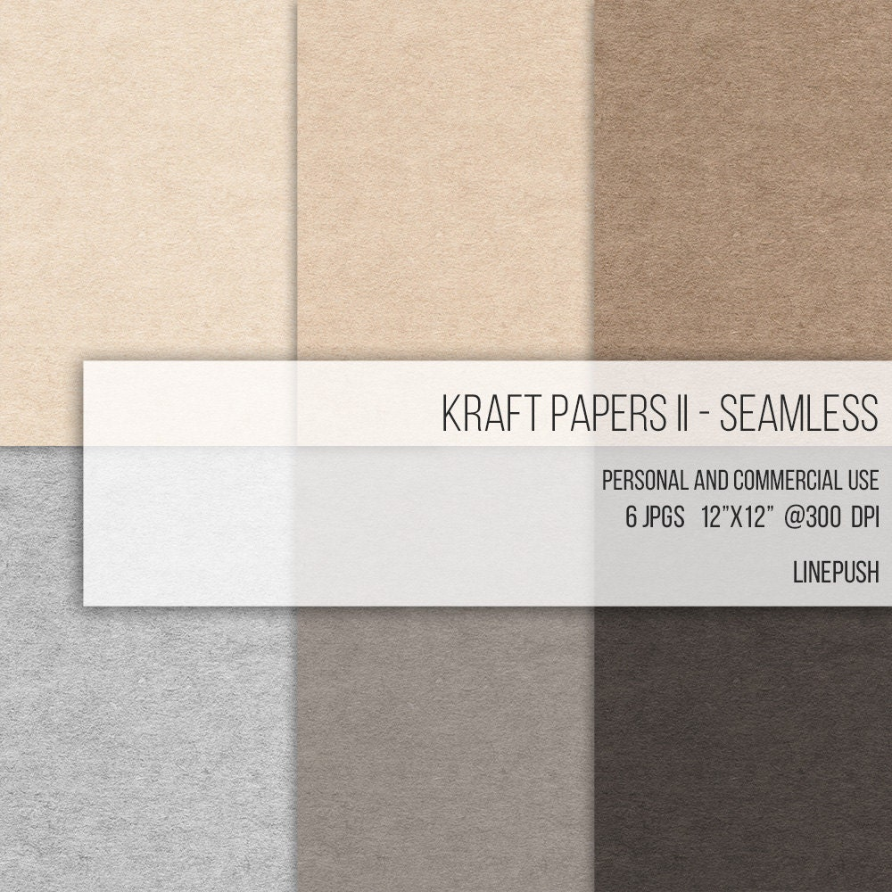 Seamless Kraft Papers Craft Card Stock Backgrounds Wallpapers