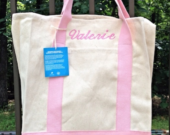 Personalized Canvas tote bags,Monogrammed Bags