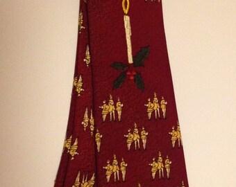 Vintage Haband Christmas Necktie