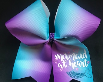 Ombre Mermaid Hairbows