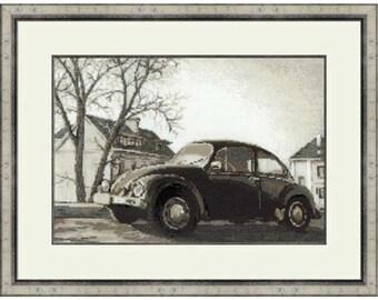 Cross Sttich Kit - The Beetle