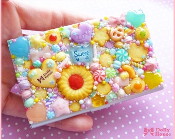 Kawaii Sweet Business or Credit Card Holder Case by Dolly House