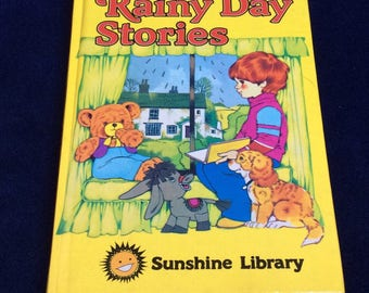 Rainy Day Stories by Enid Blyton. A vintage children's book.