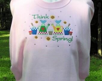 Think Spring! - Ladies' Spring Sweatshirt