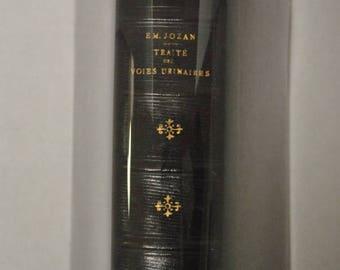 """Em. Jozan """"Traite des Voies Urinaires"""" Garnier Freres, 1890, Book, French, Medical Book"""