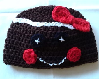 Gingerbread Woman Hat