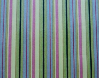 Bolt Multi Color Striped Fabric