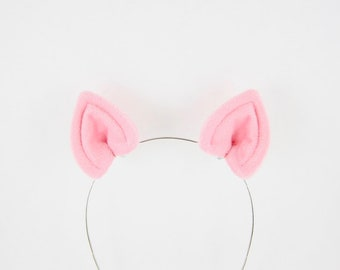 Pig Ears Hair Clips Small Piglet Costume Ears