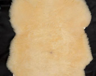 Medicinally tanned sheep skin hide rug great for babies elderly home decor crafting