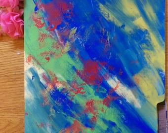 Flowish Junk Journal - Colorful 2