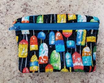 Buoy change/card/cash purse