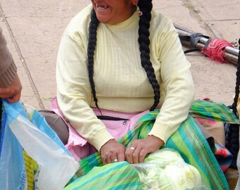 All smile in Raqchi, Peru.