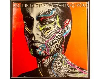 Glittered Rolling Stones Tattoo You Album - Mick