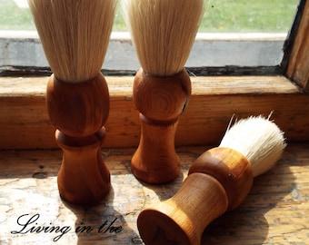 Shaving Brushes-93-yr. Old Maple