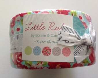 On Sale. Little Ruby  Jelly roll by Bonnie and Camille for Moda
