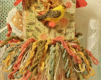 The Goldfinch Birdhouse Decorative Tassel