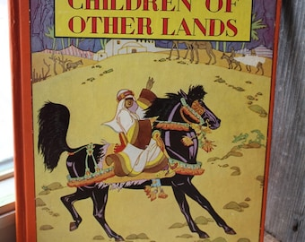 """1943 Edition of """"Children of Other Lands"""" by Watty Piper"""