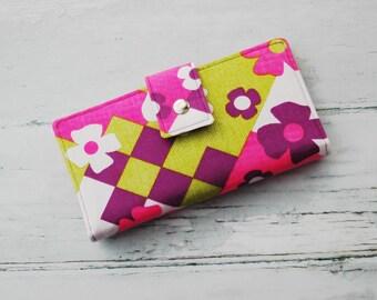 Womens Wallet Clutch, Vegan Wallet, Hippie Wallet, Womens Hippie Wallet, Mom Birthday Gift, Birthday Gift Ideas, Mom Gift