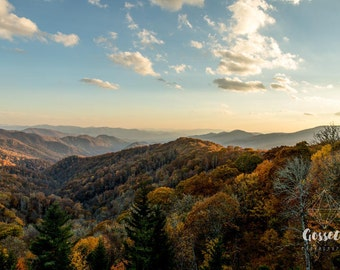 Smoky Mountain 5x7 Fine Art Print