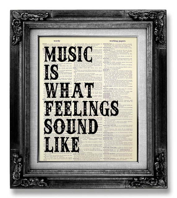 Music Wall QUOTE MUSIC Wall Saying Music Wall Art ROCK