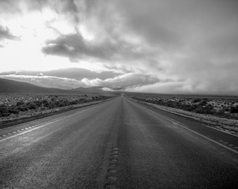 On the road..under the cloud