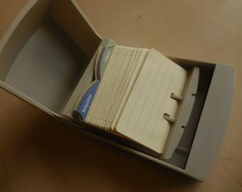 Covered Rolodex