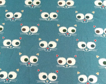 The meter-cats-sales/promos organic cotton Jersey fabric