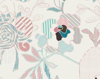 Etno - Stitched Anthomania Luster - Pat Bravo - Art Gallery Fabrics (ETN-40040)