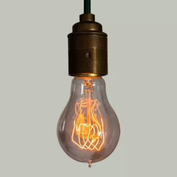 Edison Filament Bulb - Quad loop