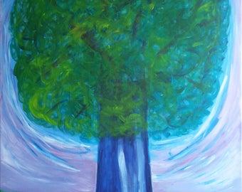 Painting tree