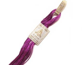 Purple n Perse DMC silk 1282 wire 5 meters