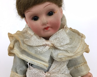Antique Armand Marseille doll, Model 390, German bisque head doll