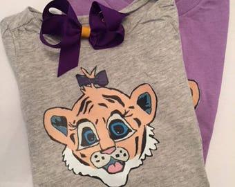 LSU Tiger Girl Shirt