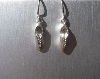 100% casted, hand fabricated sterling silver ghillie earrings