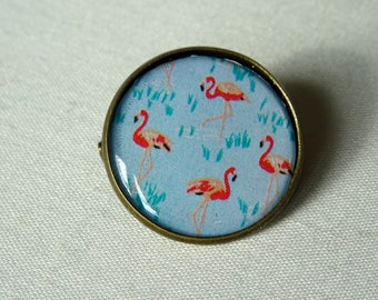 BROCHE flamands roses