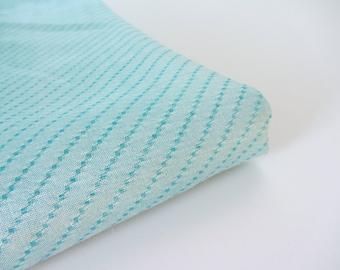 light blue soft Indian silk diagonal stripes fabric nr 631 - - 1/4 yard | fat quarter