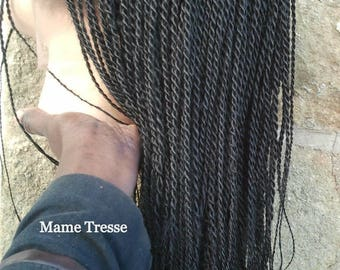 Braided wig vanilla lace front wig